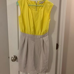 The loft color block dress. Size 2.